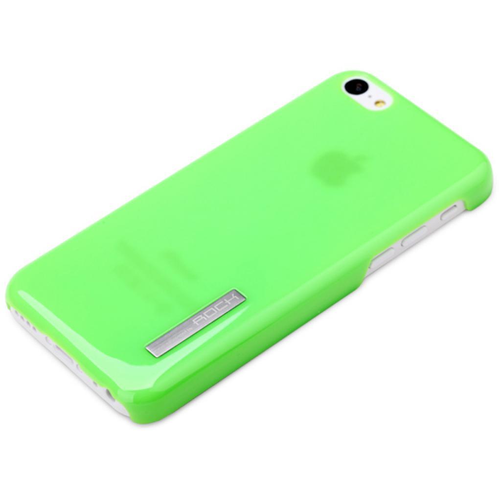 Чехол для моб. телефона Rock iPhone 5C Ethereal shell serie green (iPhone 5C-51953) изображение 3