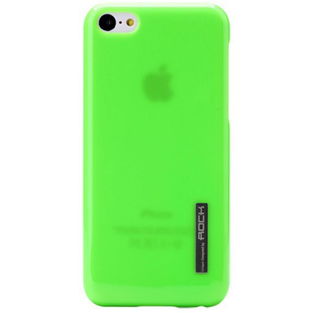 Чехол для моб. телефона Rock iPhone 5C Ethereal shell serie green (iPhone 5C-51953)