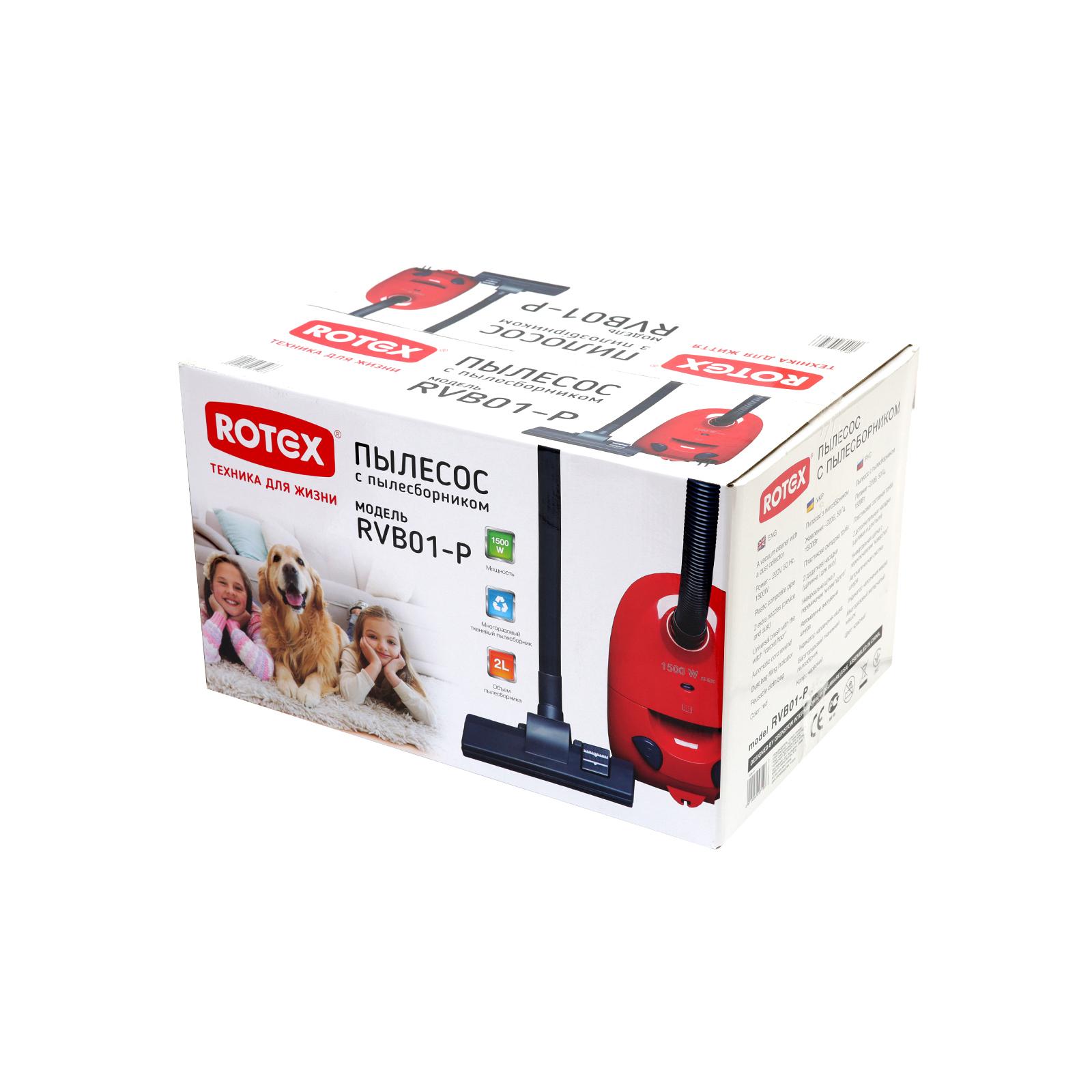 Пылесос Rotex RVB01-P Red изображение 7