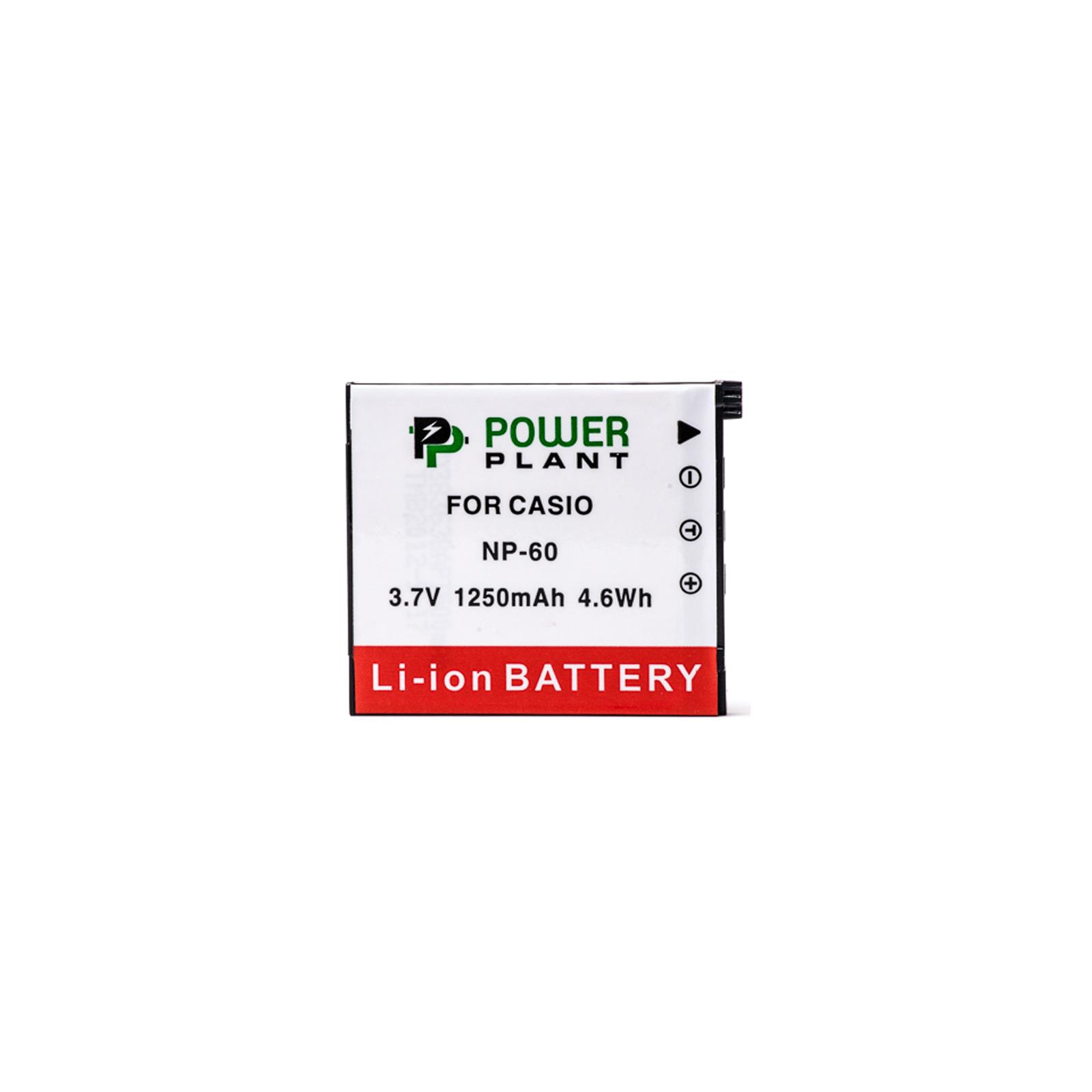 Аккумулятор к фото/видео PowerPlant Casio NP-60 (DV00DV1227) изображение 2