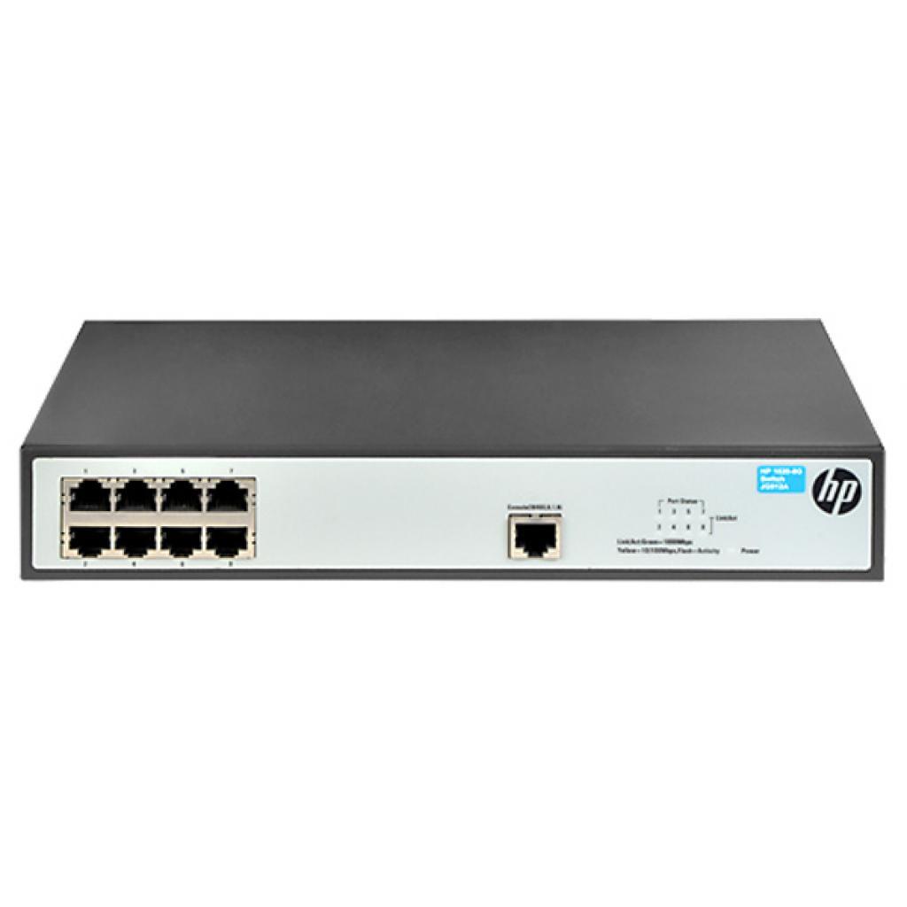 Коммутатор сетевой HP 1620-8G (JG912A) изображение 2
