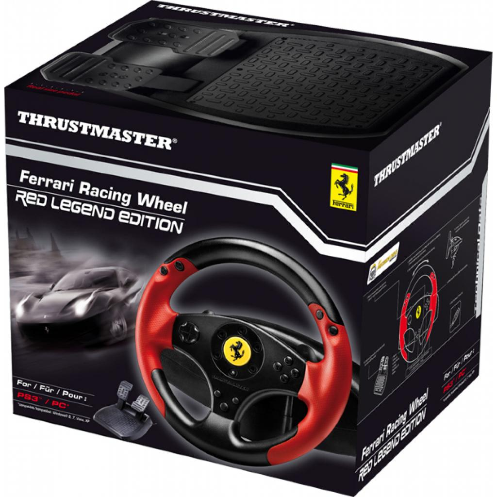 Руль ThrustMaster Ferrari Racing Wheel Red Legend Edition (4060052) изображение 4
