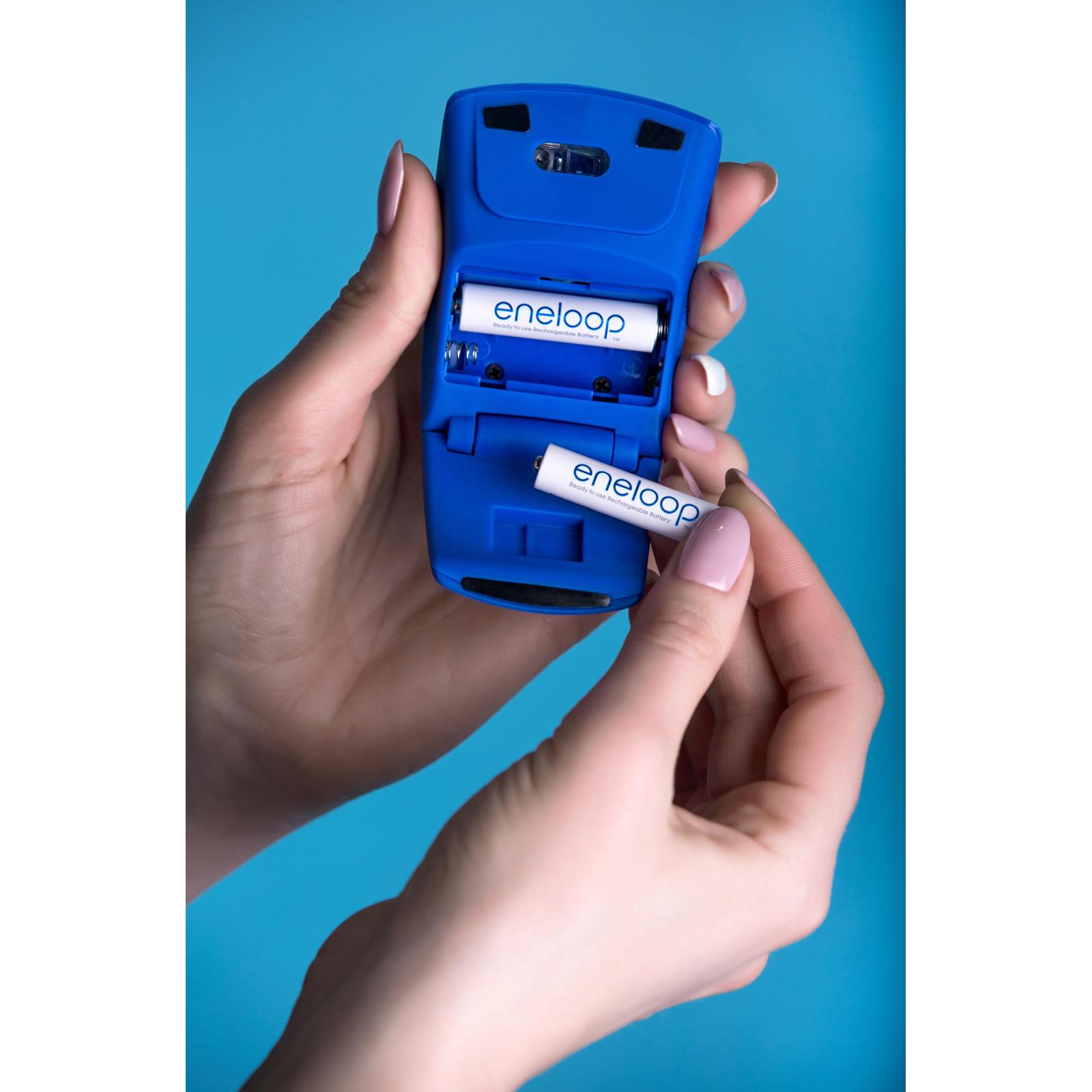 Акумулятор Panasonic Eneloop AAA 750mAh NI-MH * 2 (BK-4MCCE/2BE) зображення 4