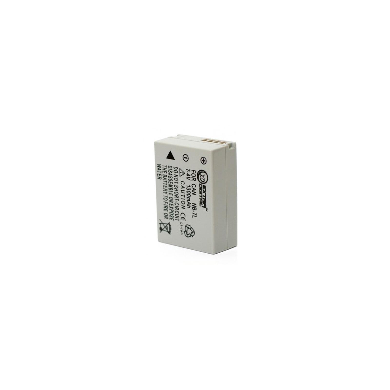 Аккумулятор к фото/видео EXTRADIGITAL Canon NB-7L (BDC2446) изображение 2