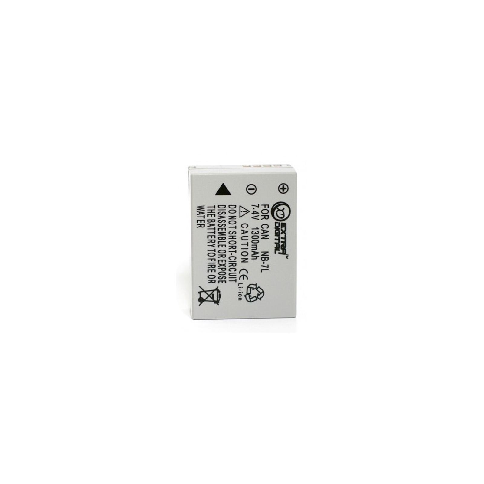 Аккумулятор к фото/видео EXTRADIGITAL Canon NB-7L (BDC2446)