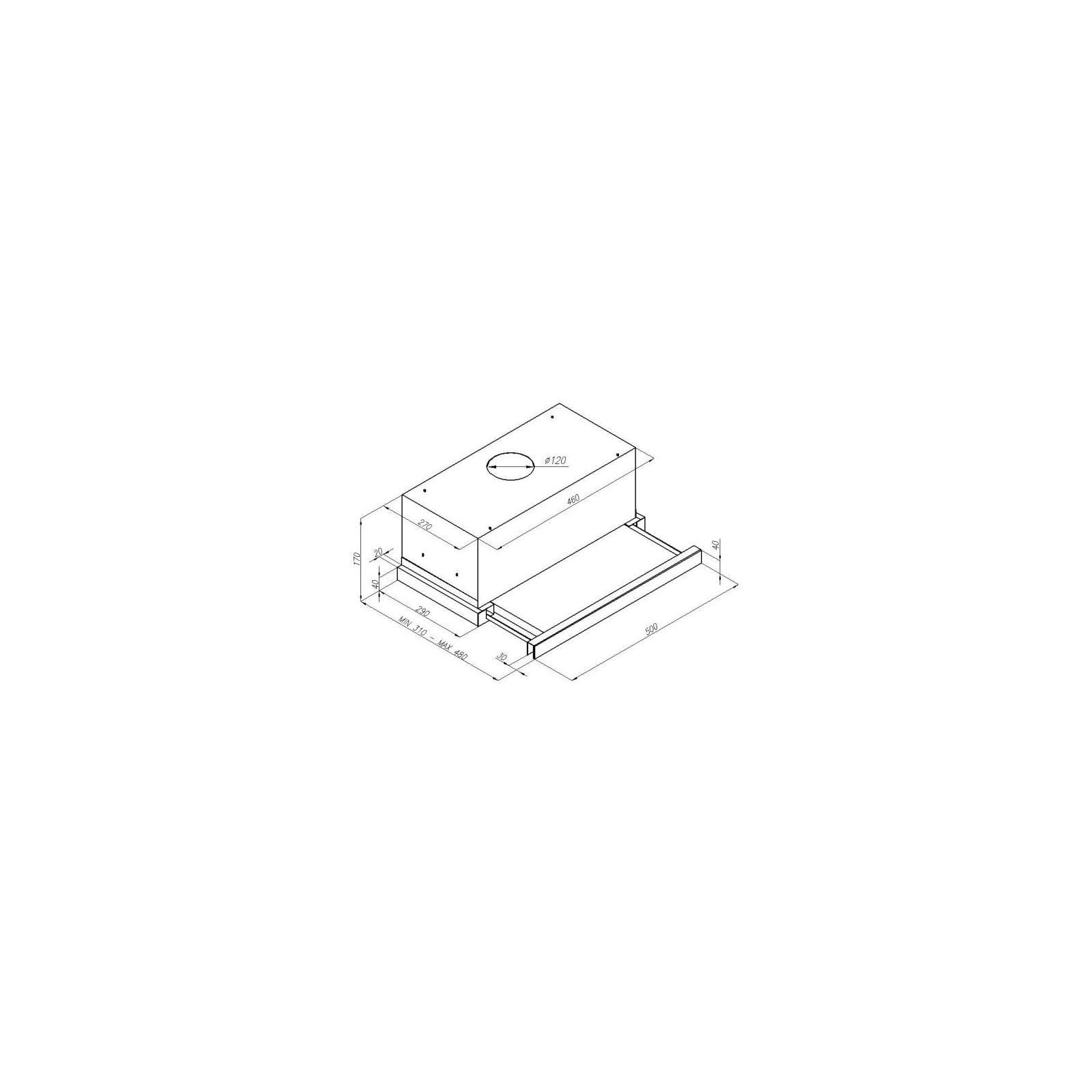 Вытяжка кухонная PERFELLI TL 5207 I изображение 7