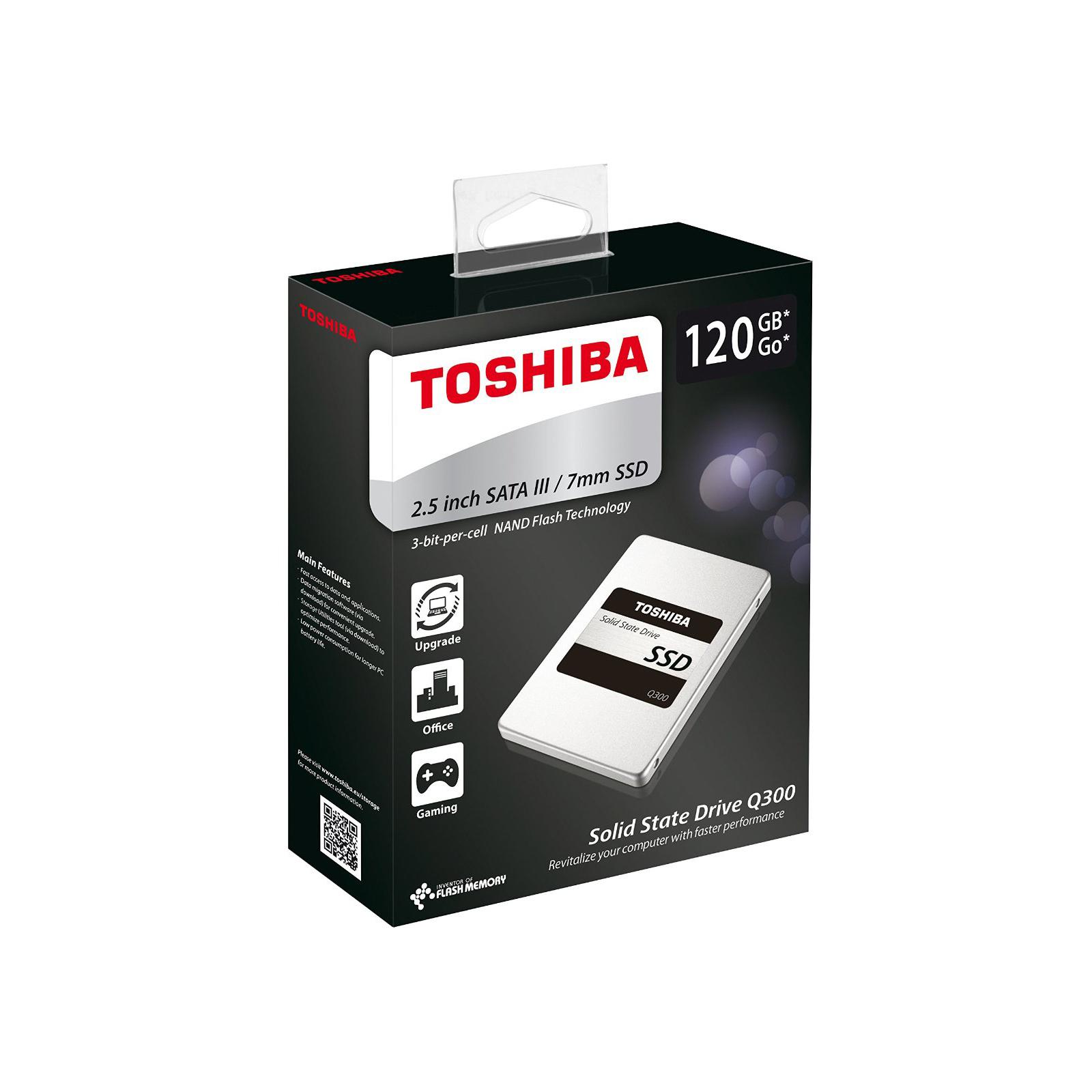 """Накопитель SSD 2.5"""" 120GB TOSHIBA (HDTS712EZSTA) изображение 5"""