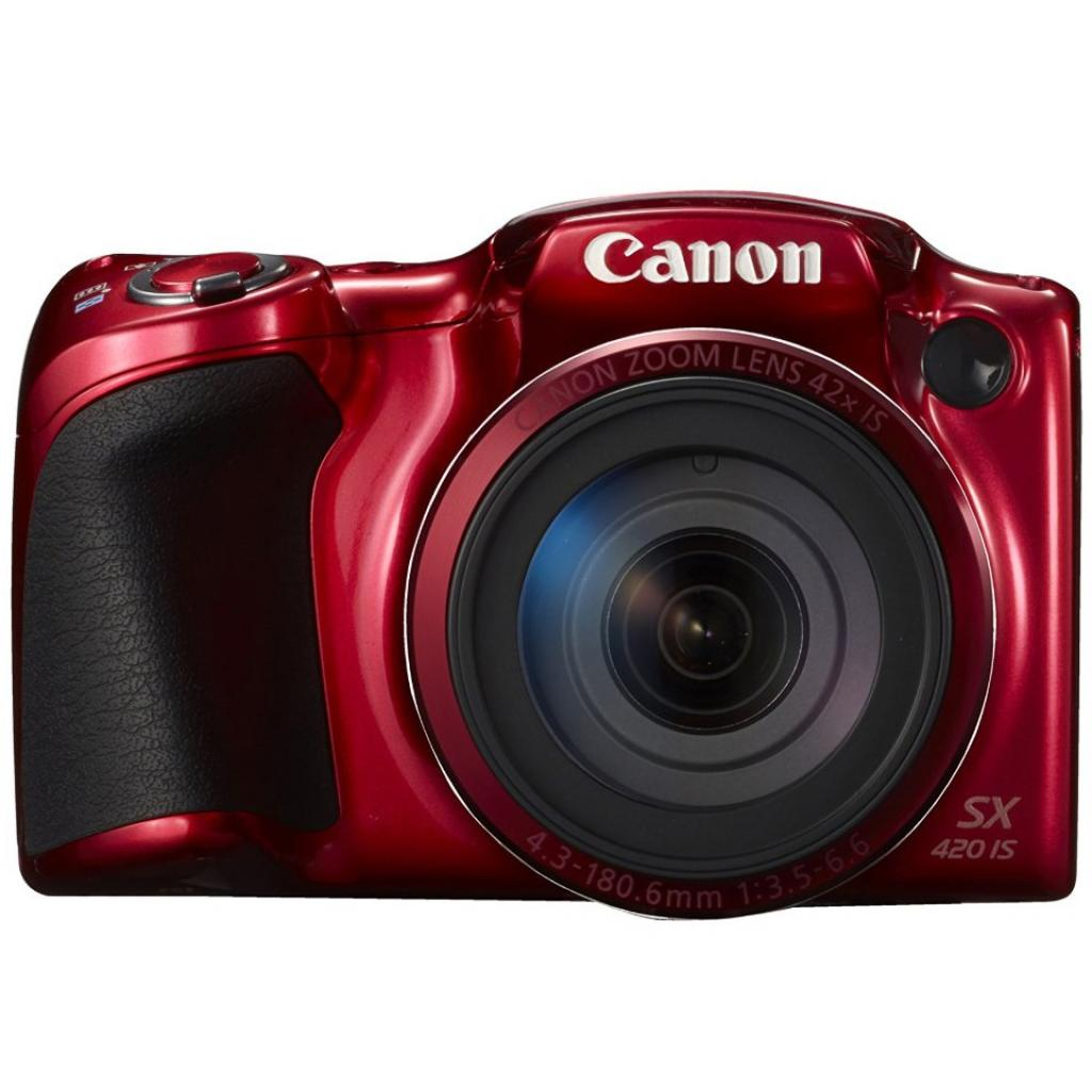 Цифровой фотоаппарат Canon PowerShot SX420 IS Red (1069C012) изображение 2