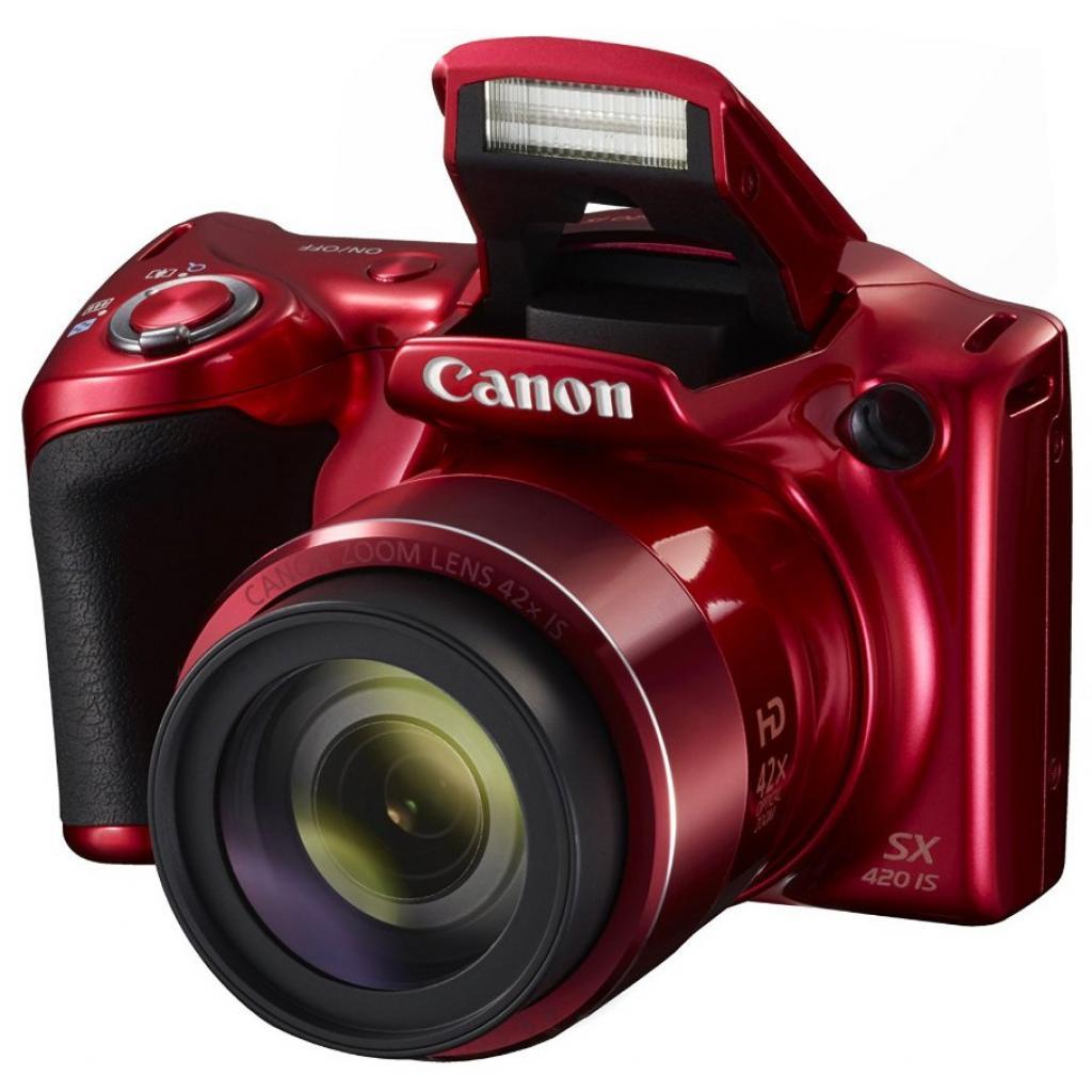Цифровой фотоаппарат Canon PowerShot SX420 IS Red (1069C012) изображение 3