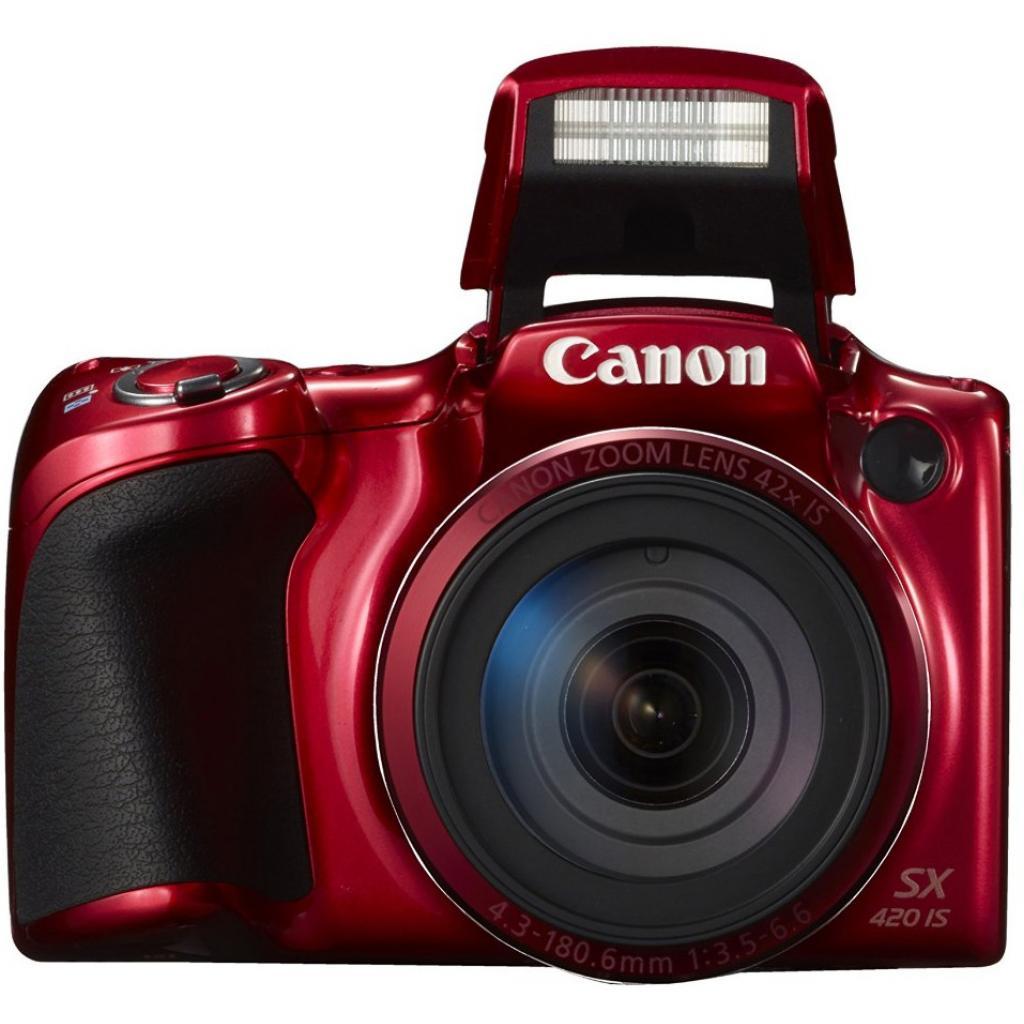 Цифровой фотоаппарат Canon PowerShot SX420 IS Red (1069C012) изображение 4