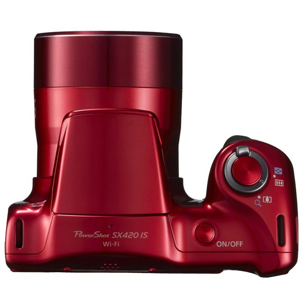 Цифровой фотоаппарат Canon PowerShot SX420 IS Red (1069C012) изображение 6