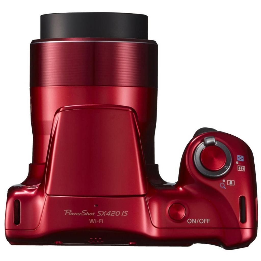Цифровой фотоаппарат Canon PowerShot SX420 IS Red (1069C012) изображение 7