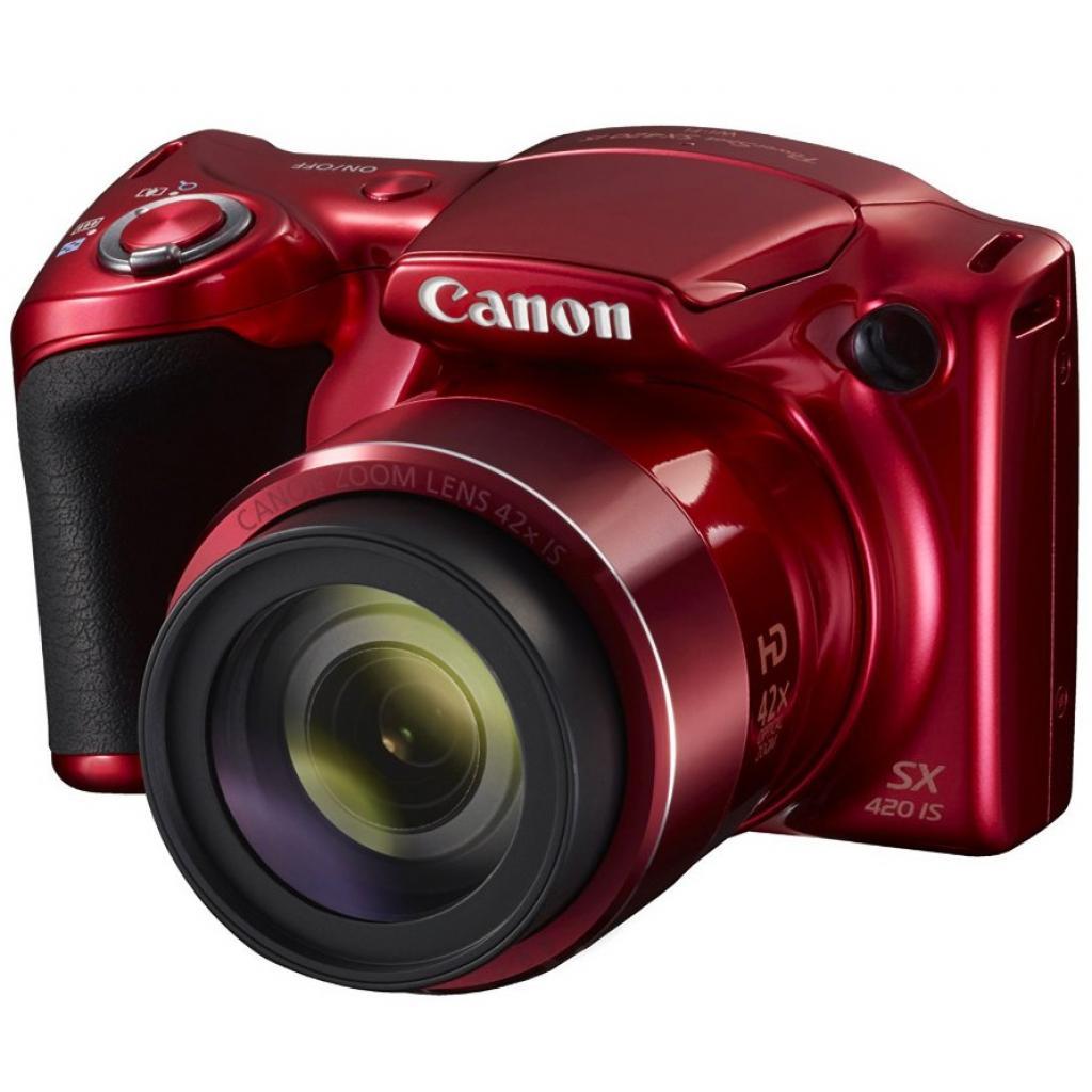 Цифровой фотоаппарат Canon PowerShot SX420 IS Red (1069C012)