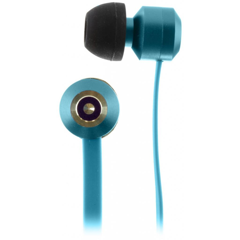 Наушники KitSound KS Ribbons In-Ear Earphones with Mic Blue (KSRIBBL) изображение 7