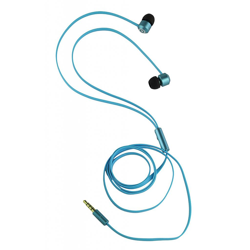 Наушники KitSound KS Ribbons In-Ear Earphones with Mic Blue (KSRIBBL) изображение 8