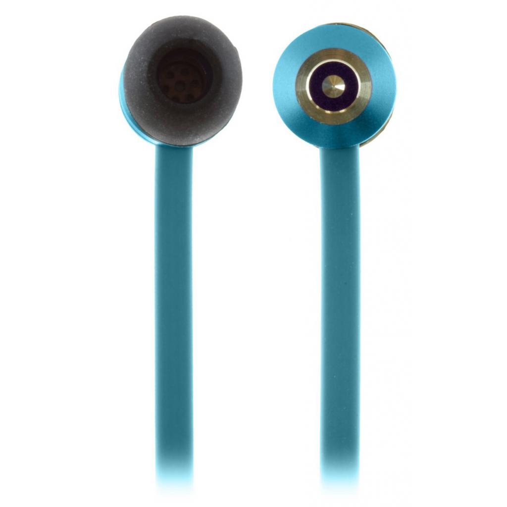 Наушники KitSound KS Ribbons In-Ear Earphones with Mic Blue (KSRIBBL) изображение 9
