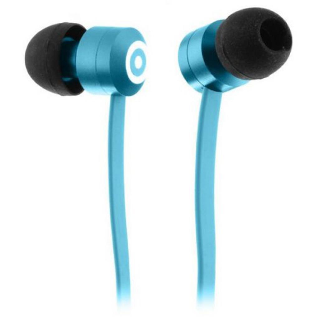 Наушники KitSound KS Ribbons In-Ear Earphones with Mic Blue (KSRIBBL)