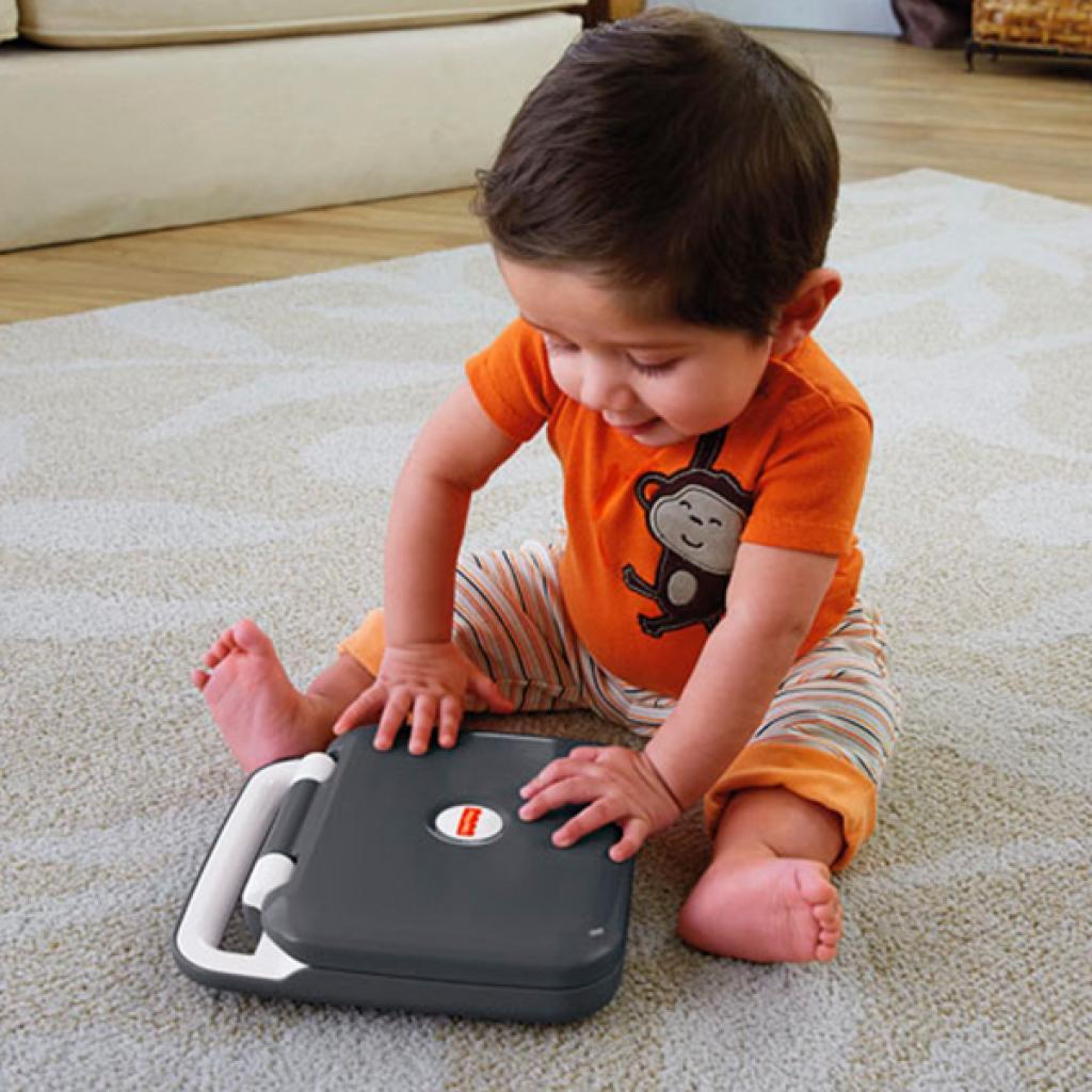 Развивающая игрушка Fisher-Price Интерактивный компьютер с технологией Smart Stages (укр.) (DKK17) изображение 3