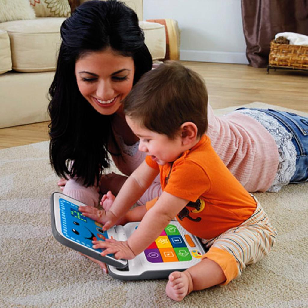 Развивающая игрушка Fisher-Price Интерактивный компьютер с технологией Smart Stages (укр.) (DKK17) изображение 4