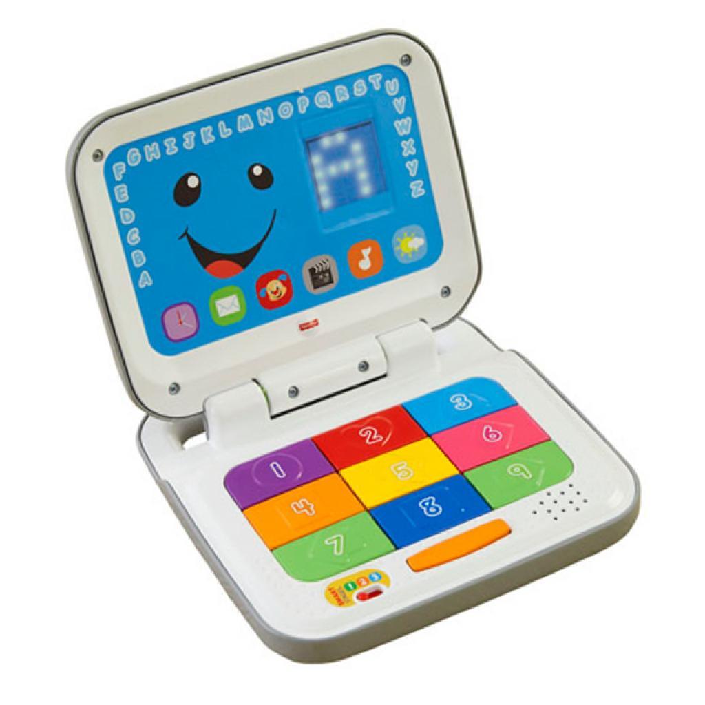 Развивающая игрушка Fisher-Price Интерактивный компьютер с технологией Smart Stages (укр.) (DKK17)