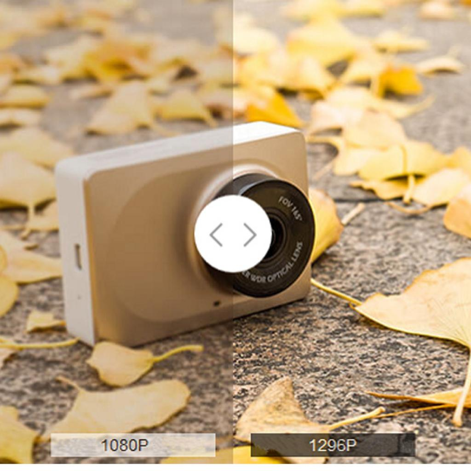 Видеорегистратор Xiaomi XiaoYi car DVR Gold изображение 7