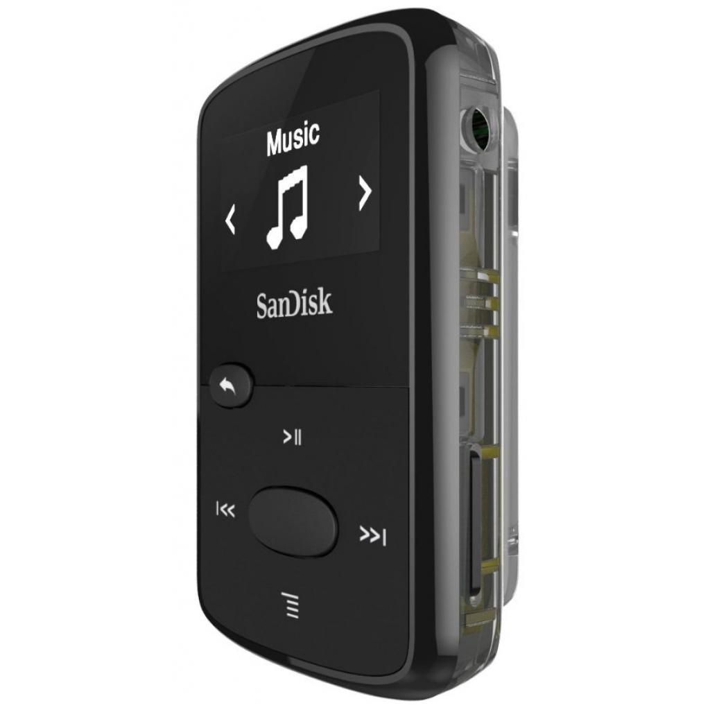mp3 плеер SANDISK Sansa Clip JAM 8GB Black (SDMX26-008G-G46K) изображение 3