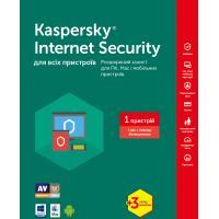 Антивирус Kaspersky Internet Security 2017 Multi-Device 1 ПК 1год+3мес Base Box (KL1941OUABS17)
