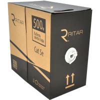 Кабель сетевой Ritar UTP 500м КВП (2*2*0,50) mark 2Р 24AWG [СCA] (5059)