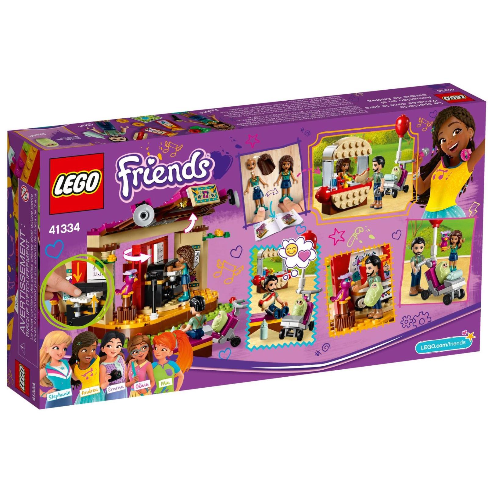 Конструктор LEGO Friends Выступление в парке Андреа (41334) изображение 11