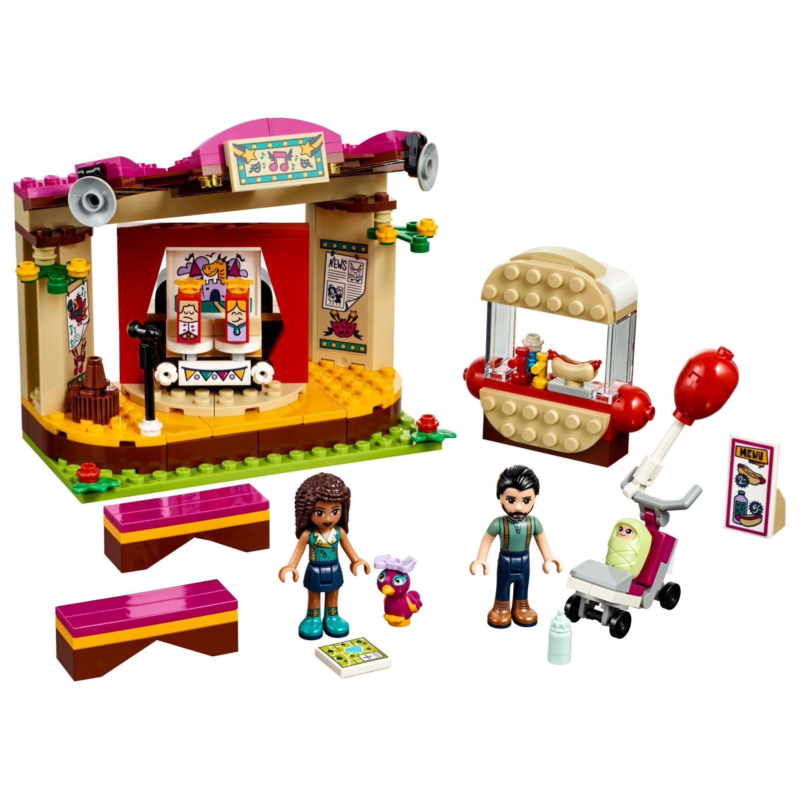 Конструктор LEGO Friends Выступление в парке Андреа (41334) изображение 2