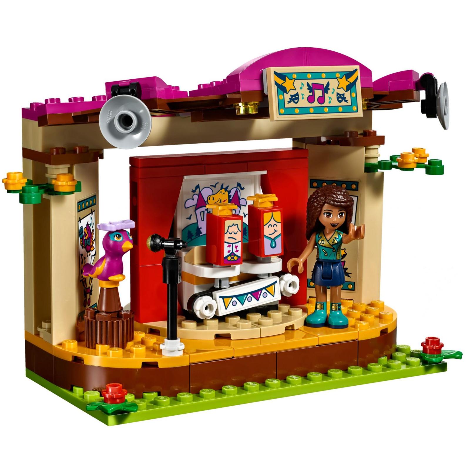 Конструктор LEGO Friends Выступление в парке Андреа (41334) изображение 3