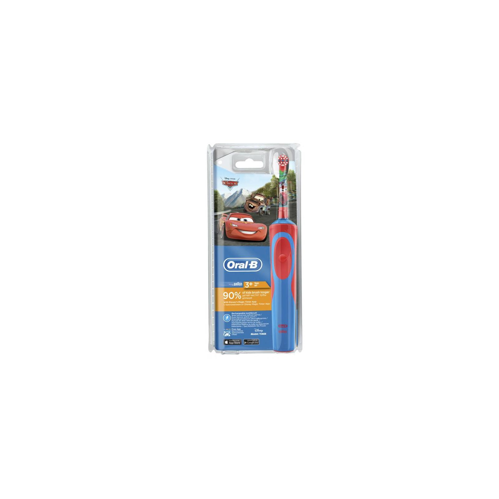 Электрическая зубная щетка Oral-B Cars (D12.513K) изображение 2