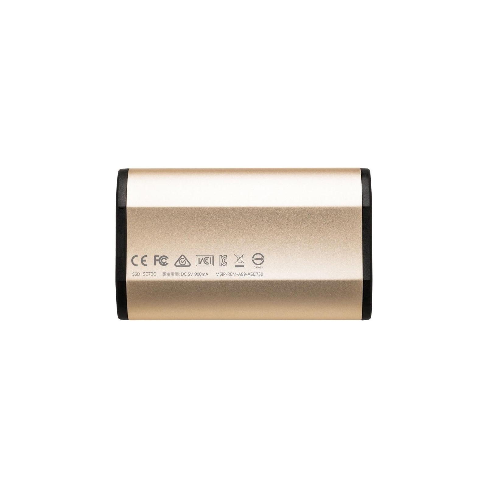 Накопитель SSD USB 3.1 512GB ADATA (ASE730H-512GU31-CGD) изображение 2