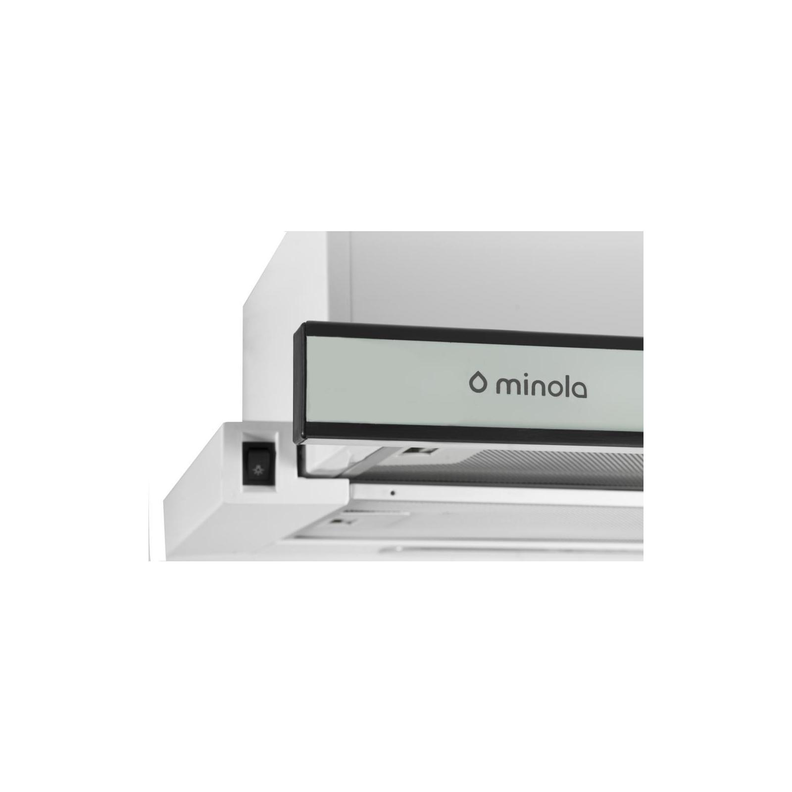 Вытяжка кухонная MINOLA HTL 6160 I/ WH GLASS 630 изображение 3