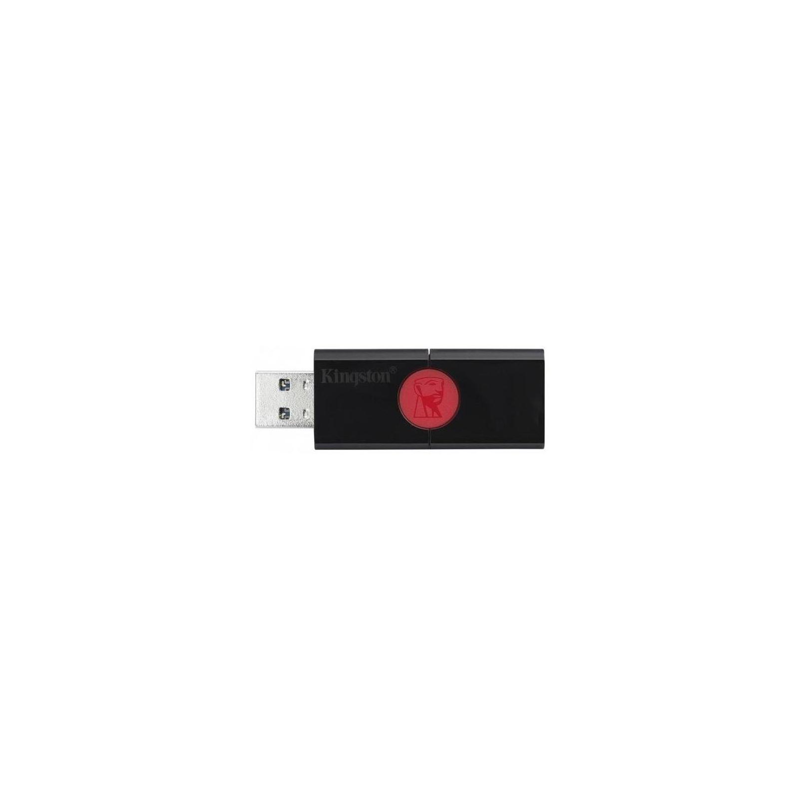 USB флеш накопитель Kingston 256GB DT106 USB 3.0 (DT106/256GB) изображение 3