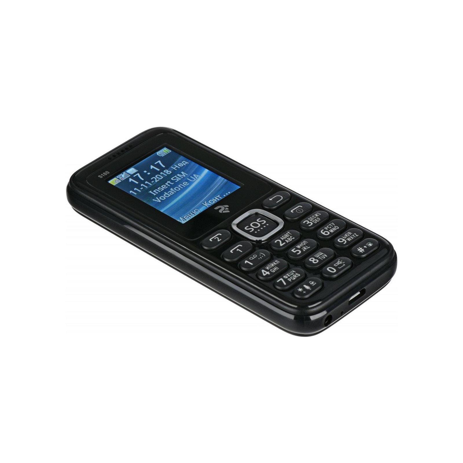 Мобильный телефон 2E S180 Black (708744071118) изображение 7
