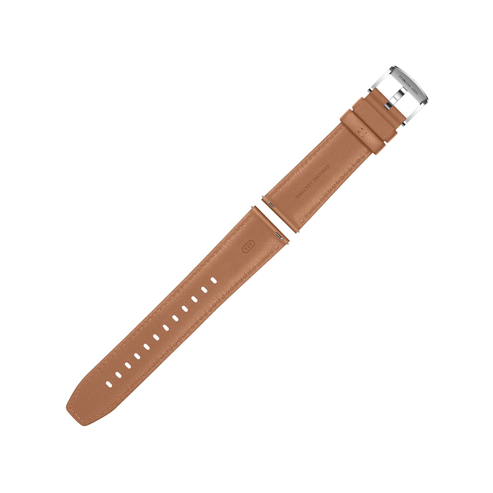 Смарт-часы Huawei Watch GT 2 46mm Classic Silver BROWN шкіра (Latona-B19V) (55024470) изображение 7