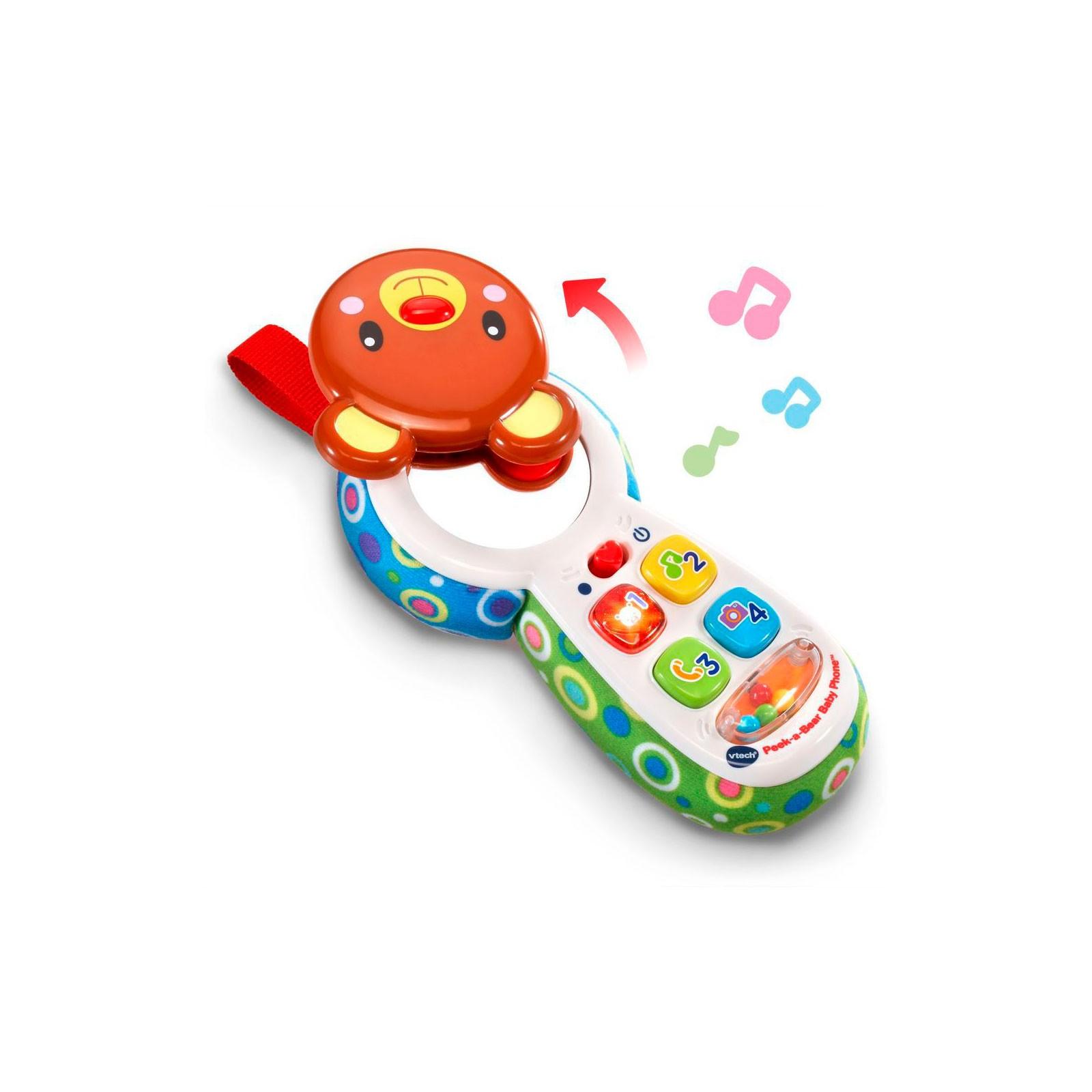 Развивающая игрушка VTech телефон Отвечай и играй со звуковыми эффектами (80-502726) изображение 2