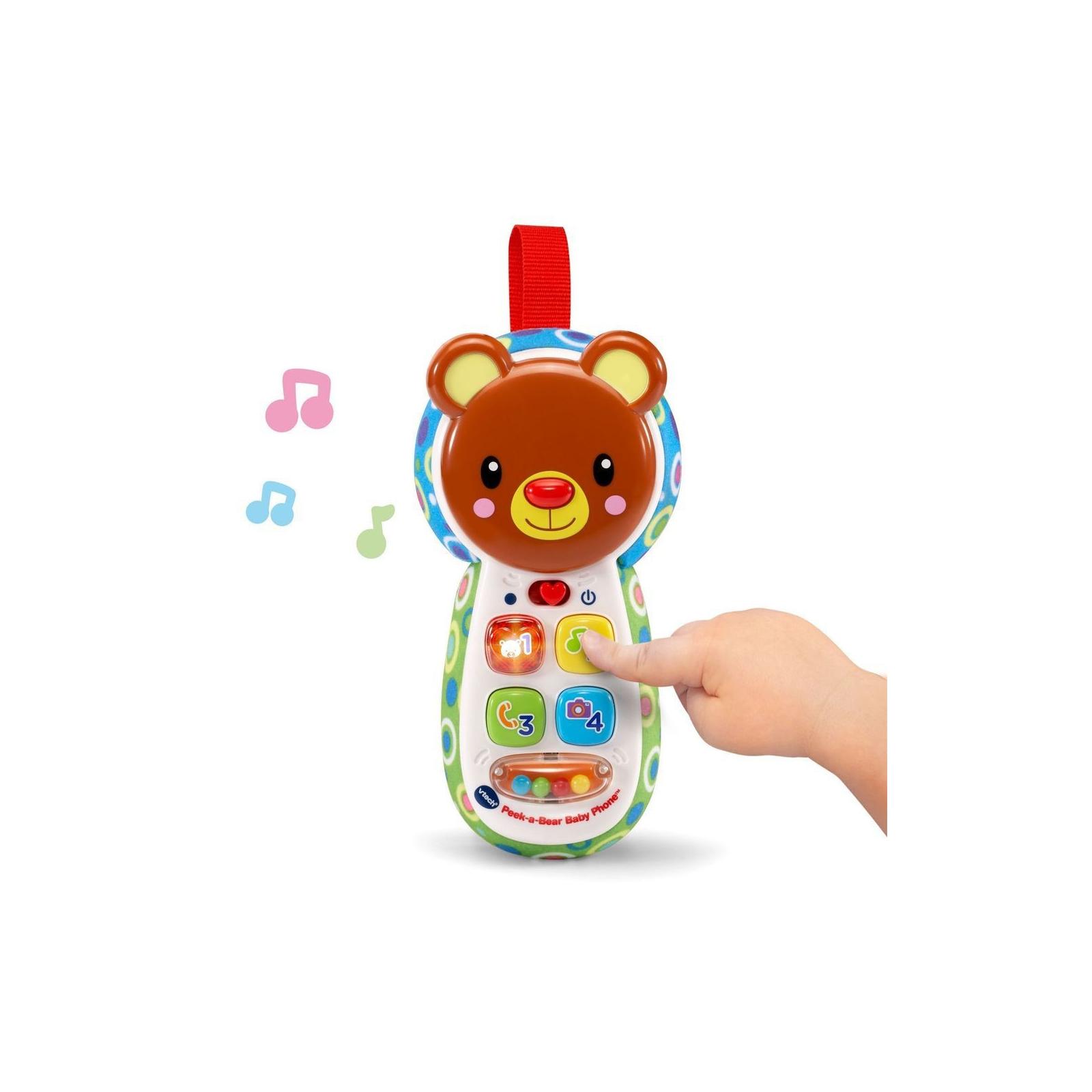 Развивающая игрушка VTech телефон Отвечай и играй со звуковыми эффектами (80-502726) изображение 3