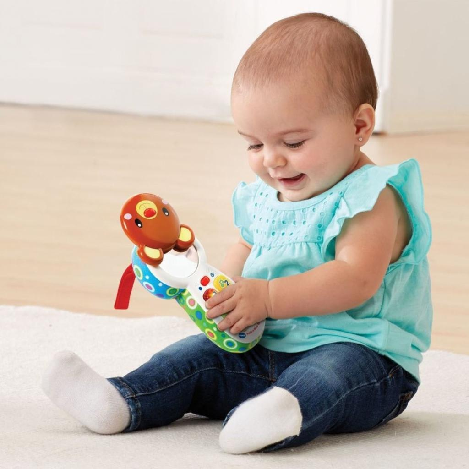 Развивающая игрушка VTech телефон Отвечай и играй со звуковыми эффектами (80-502726) изображение 4
