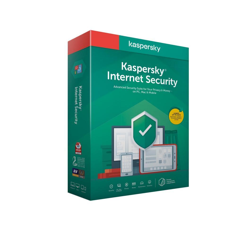 Антивирус Kaspersky Internet Security Multi-Device 2020 1 ПК 1 год Base Box (DVD (5056244903275) изображение 2