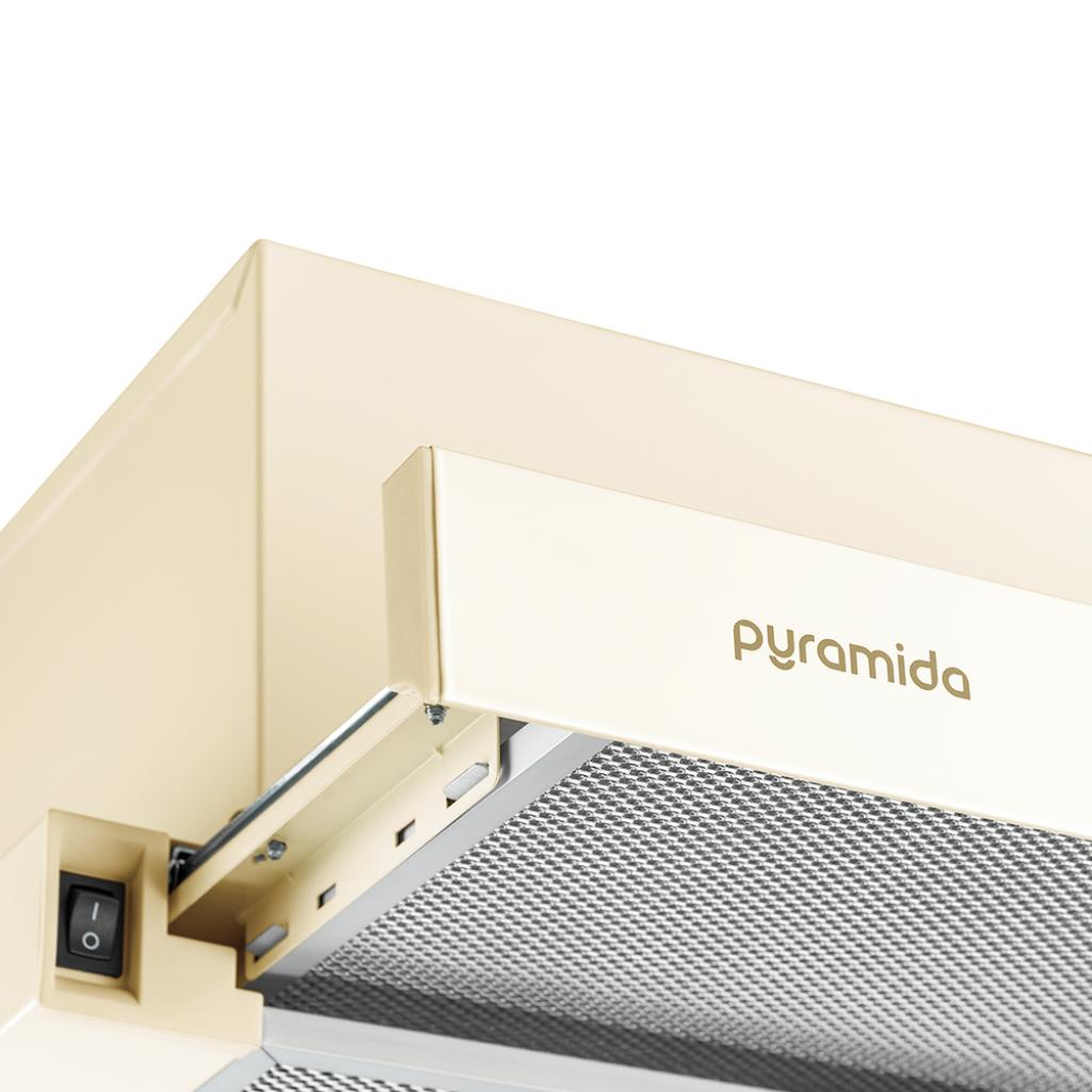 Вытяжка кухонная Pyramida TLX2-50 BR изображение 4