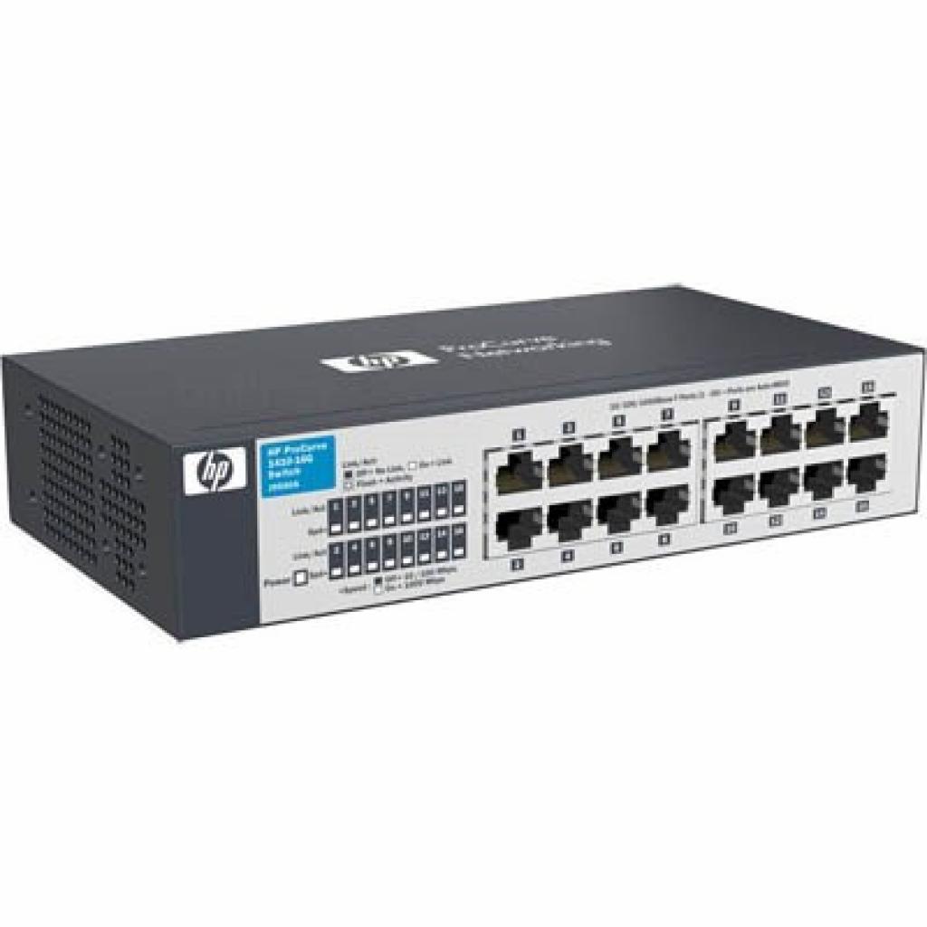 Коммутатор сетевой HP 1410-16G (J9560A)