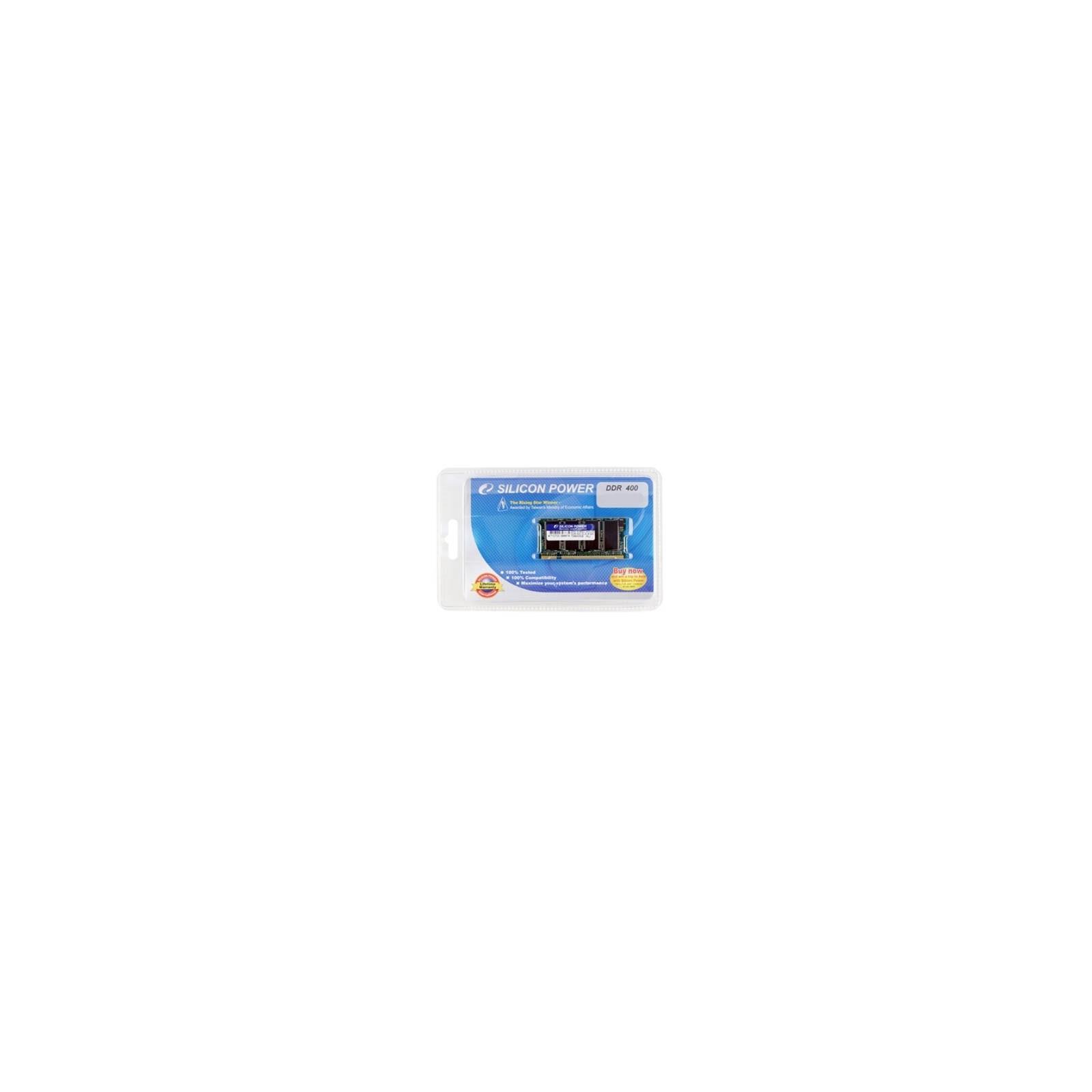Модуль памяти для ноутбука SoDIMM DDR 1GB 400 MHz Silicon Power (SP001GBSDU400O02)