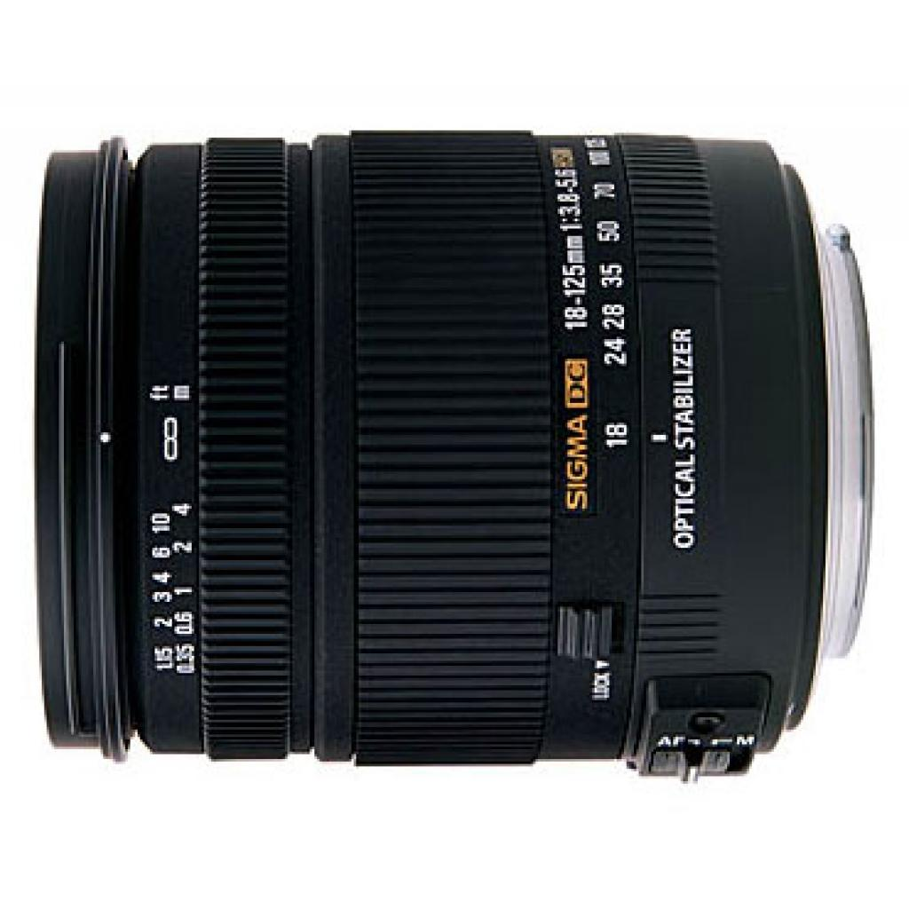 Объектив 18-125mm f/3.8-5.6 DC OS HSM for Canon Sigma (853954)