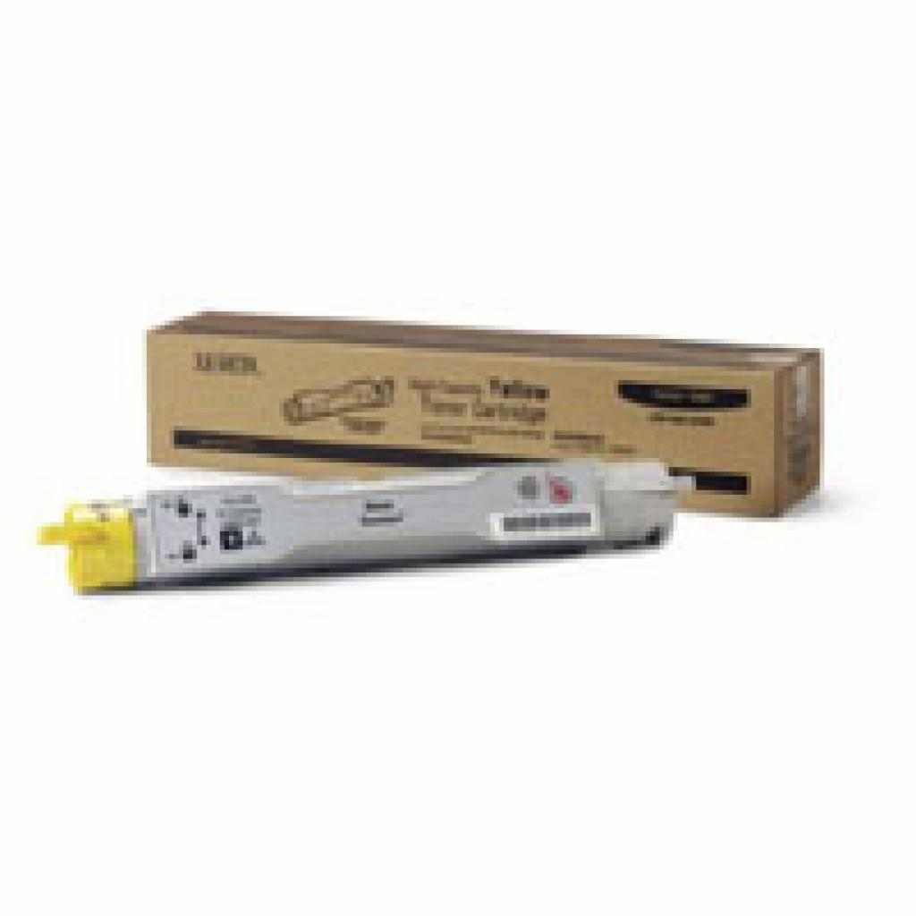 Тонер-картридж XEROX PH6115/6120 (Max) Yellow (113R00694)