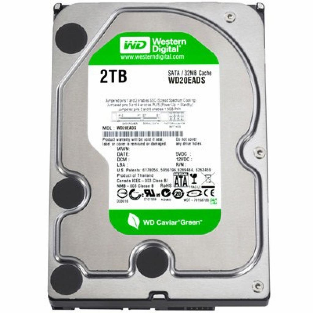 "Жесткий диск 3.5"" 2Tb Western Digital (WD20EARS)"