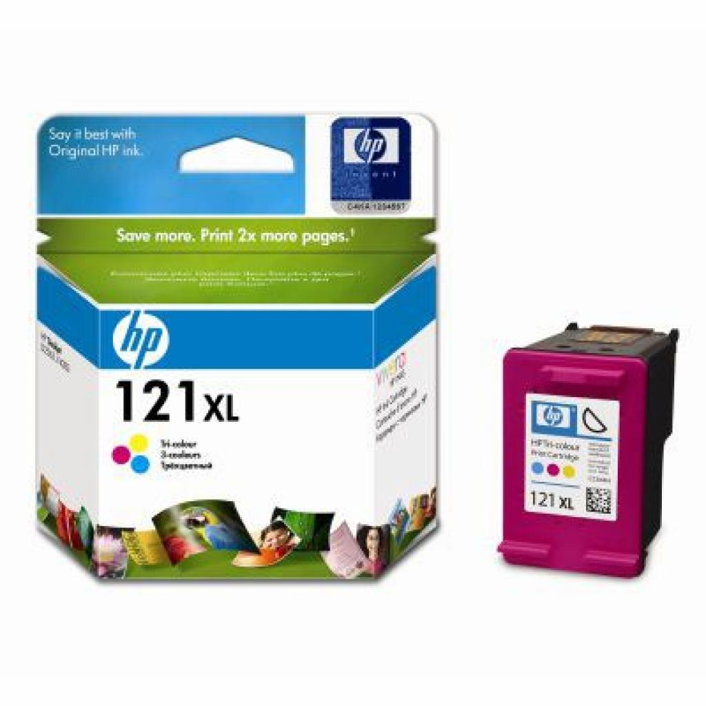 Картридж HP DJ No.121XL D2563/F4283 color (CC644HE)