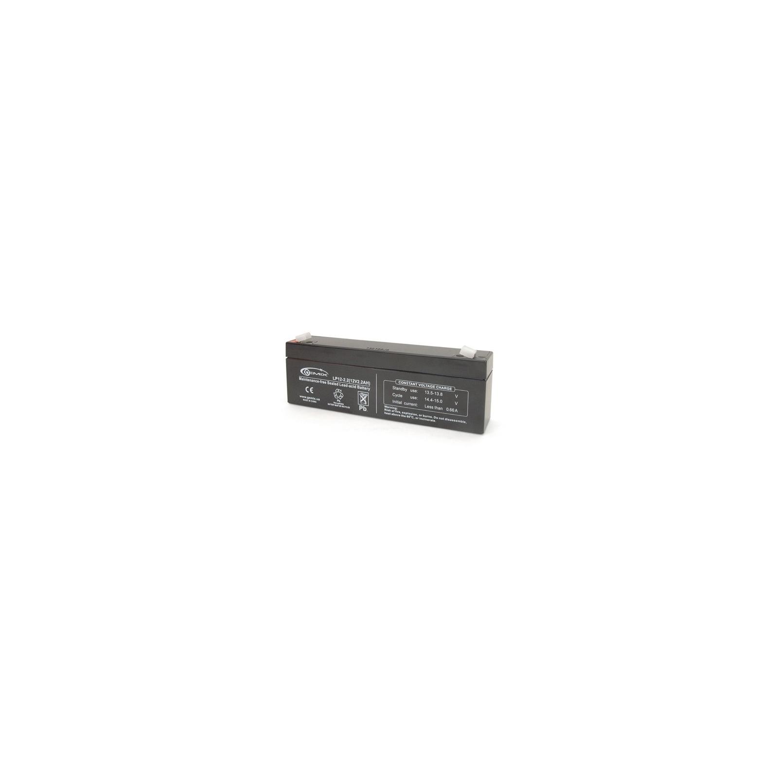Батарея к ИБП 12В 1.2 Ач GEMIX (LP12-2.2)