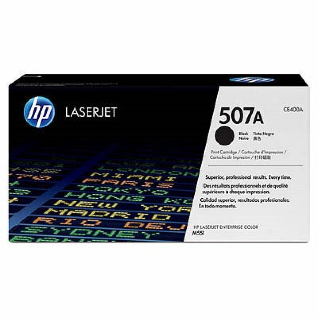 Картридж HP CLJ Enterprise 500 Color M551 black (CE400A)